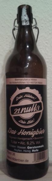 21null3 Das Honigbier