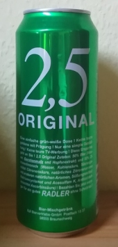 2,5 Original Radler