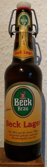 Beck Bräu Lager