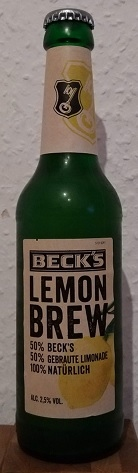 Beck's Lemon Brew