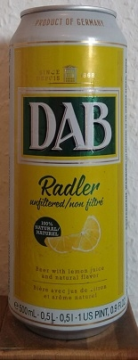 DAB Radler unfiltered