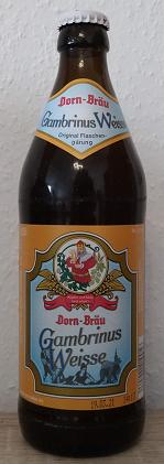 Dorn-Bräu Gambrinus Weisse
