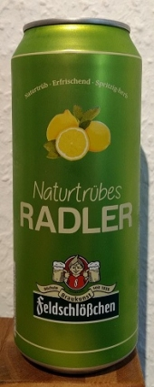 Feldschlößchen Naturtrübes Radler