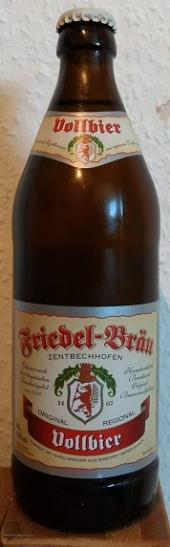 Friedel-Bräu Vollbier