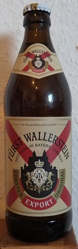 Fürst Wallerstein Fürsten Export Original