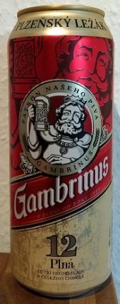 Gambrinus Plná 12