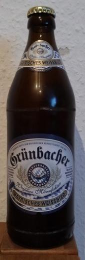 Grünbacher Bayrisches Weissbier