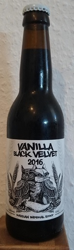 Guineu / La Quince Vanilla Black Velvet 2016