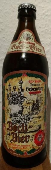 Hebendanz Bock-Bier