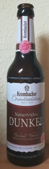 Krombacher Brautradition Naturtrübes Dunkel