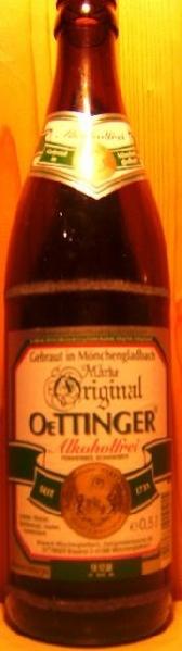 Oettinger Alkoholfrei (Brauerei Mönchengladbach)