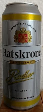 Ratskrone Radler/Alsterwasser