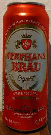 Stephans Bräu Export