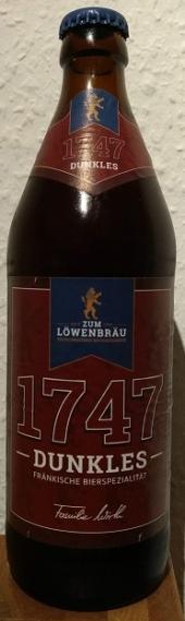 Zum Löwenbräu 1747 Dunkles